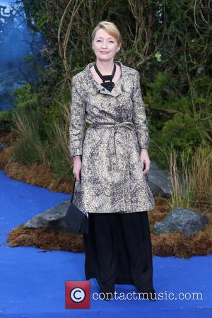 Lesley Manville - Maleficent - private reception event held at Kensington Palace - Arrivals - London, United Kingdom - Wednesday...