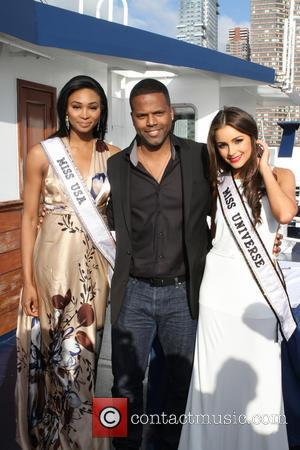Nana Meriwether, A. J. Calloway and Olivia Culpo - Wishing Bon Voyage to Miss Universe, Olivia Culpo, with a special...