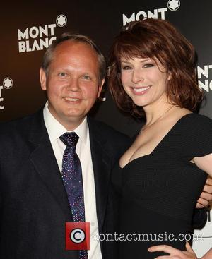 Jan Patrick Schmitz and Diane Neal