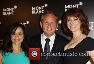 Rosie Perez, Jan Patrick Schmitz and Diane Neal
