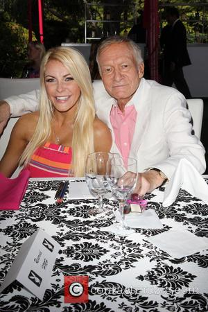 Crystal Hefner and Hugh Hefner - Playboy Magazine's 2013 Playmate of the Year ceremony held at the Playboy Mansion. -...
