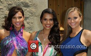 Tiffany Fallon, Raquel Pomplun and Kara Monaco