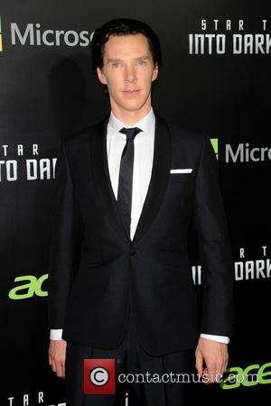 Benedict Cumberbatch - NYC Star Trek