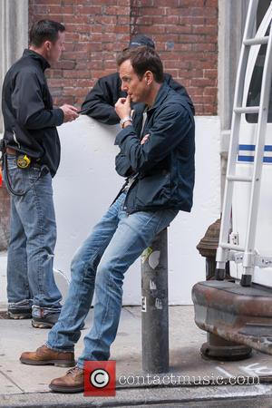 Will Arnett - Actors on the set of 'Teenage Mutant Ninja Turtles' - New York City, NY, United States -...