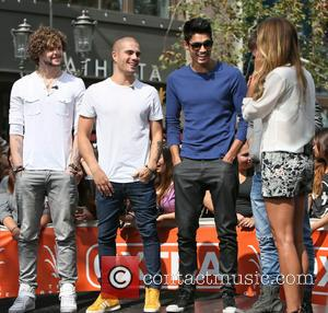 Jay Mcguiness, Max George, Siva Kaneswaran and Renee Bargh