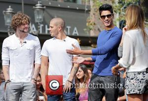 Siva Kaneswaran, Jay Mcguiness, Max George and Renee Bargh