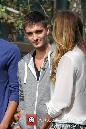 Tom Parker - Celebrities at The Grove to appear on entertainment news show 'Extra' - Los Angeles, CA, United States...