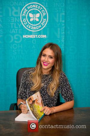 Jessica Alba Hosts Baby Shower For Fan