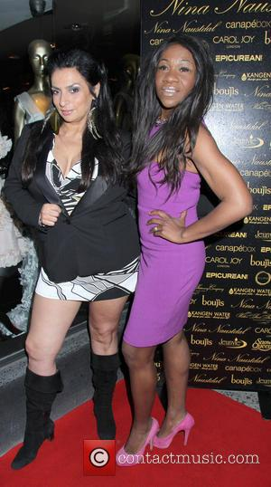 Alice Amter and Karen Bryson - Celebrities attend Nina Naustdal 2nd Anniversary Party - London, United Kingdom - Thursday 9th...