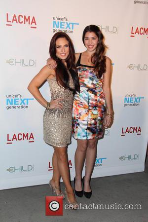 Sharna Burgess and Jamie Gray Hyder - UNICEF's Next Generation Los Angeles Launch at the LA County Museum of Art...