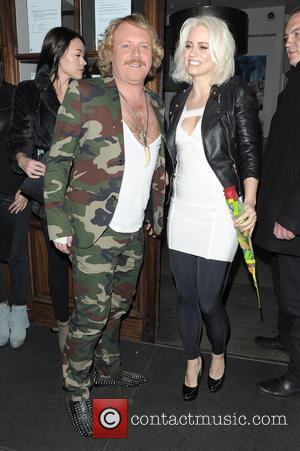 Leigh Francis and Kimberly Wyatt