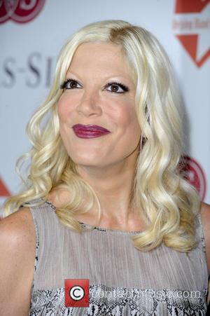 Tori Spelling - Mother's Day Luncheon