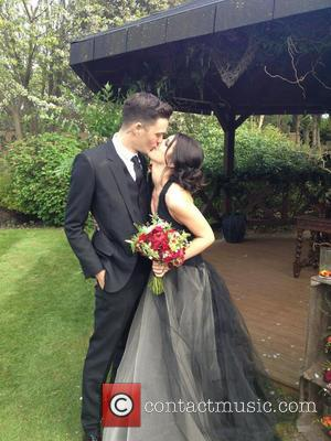 Sheane Grimes and Josh Beech - Sheane Grimes posted a photo on Twitter with the caption: 'I now pronounce us...