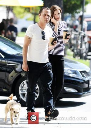 Giovanni Ribissi - Giovanni Ribissi and his wife Agyness Deyn seen walking with their dog after grabbing  coffee in...