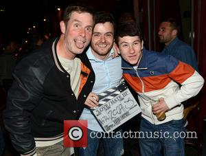Laurence Kinlan, David Caffrey and Barry Keoghan