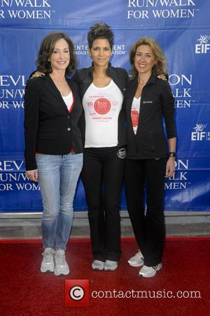 Lilly Tartikoff, Halle Berry and Julia Goldin