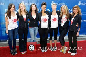 Karina Smirnoff, Brooke Anderson, Lilly Tartikoff, Halle Berry, Julie Bowen, Denise Austin and Julia Goldin