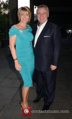 Ruth Langsford and Eamonn Holmes - Celebrities outside the RTE Studios for 'The Saturday Night Show' - Dublin, Ireland -...