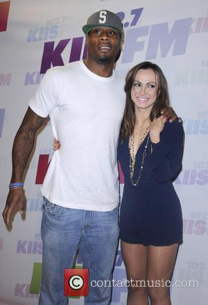Karina Smirnoff and Kerry Rhodes