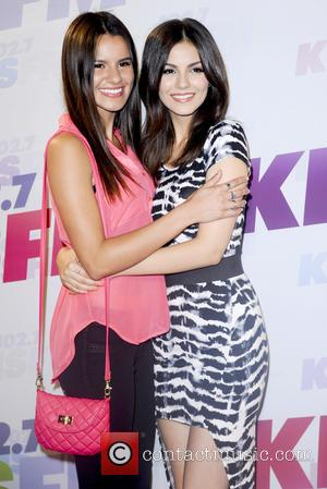 Madison Grace Reed and Victoria Justice