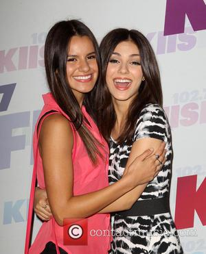 Victoria Justice and Madison Grace Reed