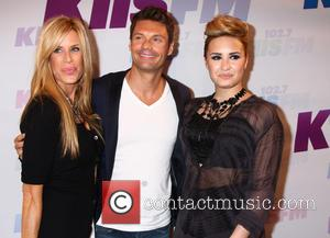 Ellen K, Ryan Seacrest and Demi Lovato