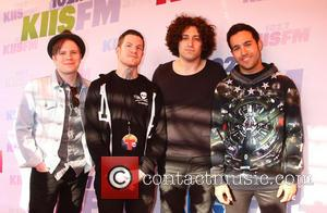 Patrick Stump, Andy Hurley, Joe Trohman and Pete Wentz Of Fall Out Boy