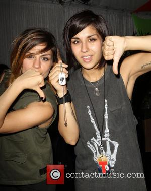 Yasmine Yousaf and Jahan Yousaf of Krewella - 2013 Wango Tango presented by 102.7 KIIS FM - VIP Lounge -...