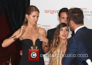 Millie Mackintosh, Louise Thompson and Spencer Matthews