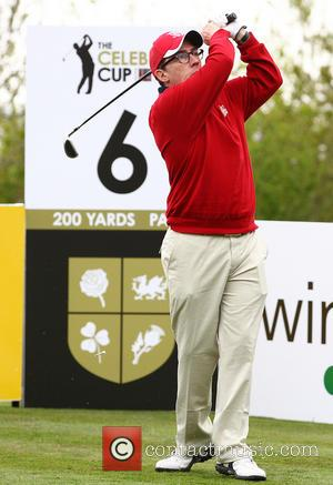 Rob Brydon - Celebrities compete in the Celebrity Cup Golf Tournament as part of Golf Live at Celtic Manor hotel...