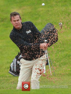 Peter Jones - Celebrities compete in the Celebrity Cup Golf Tournament as part of Golf Live at Celtic Manor hotel...