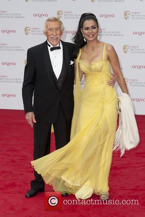 Bruce Forsyth and Wilnelia Forsyth - The Arqiva British Academy Television Awards held at the Royal Festival Hall - Arrivals...