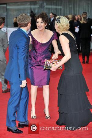 Marton Freeman, Olivia Colman and Amanda Abbington - The Arqiva British Academy Television Awards held at the Royal Festival Hall...