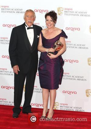 Bruce Forsyth and Olivia Colman