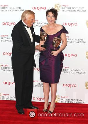 Bruce Forsyth and Olivia Colman - The Arqiva British Academy Television Awards (BAFTA's) 2013 held at the Royal Festival Hall...