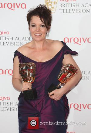 Olivia Colman - The Arqiva British Academy Television Awards (BAFTA's) 2013 held at the Royal Festival Hall - Press Room...