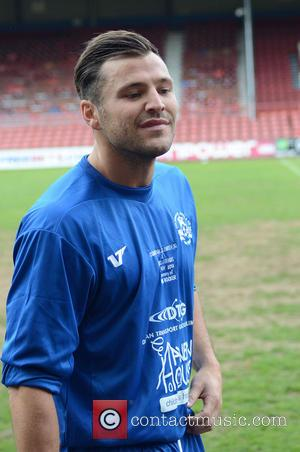 Mark Wright - Celebrity football match in aid of Haven House Children's Hospice at Leyton Orient Football ground - London,...