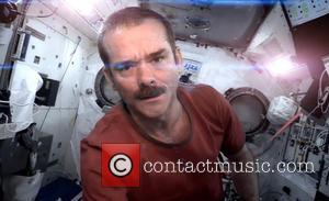 David Bowie and Chris Hadfield