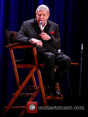 Jerry Lewis - Jerry Lewis shares career stories and memories during a Q+A session at South Point Hotel and Casino...