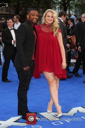 JB Gill and Chloe Tangney - X-Men: Days Of Future Past - UK film premiere - London, United Kingdom -...
