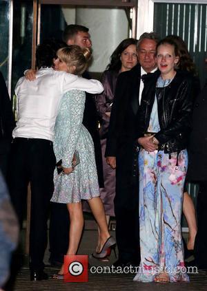 Sienna Miller, Savannah Miller and Ben Whishaw