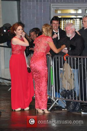 Jennie McAlpine and Catherine Tyldesley - The Arqiva British Academy Television Awards held at the Royal Festival Hall - Departures...