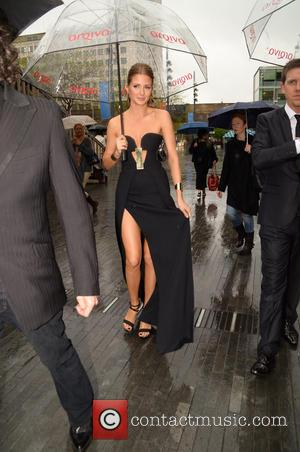 Millie Mackintosh Has Dress Nightmare On BAFTA's Red Carpet [Pictures]