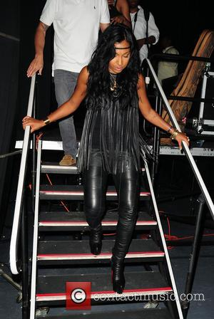 Melanie Fiona - 2nd Annual Mothers Day Concert held at the James L. Knight Center - Backstage - Miami, Florida,...