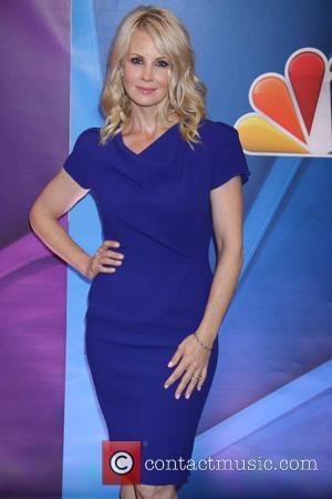 Monica Potter - 2013 NBC Upfront Presentation - Arrivals - New York City , New York , United States -...