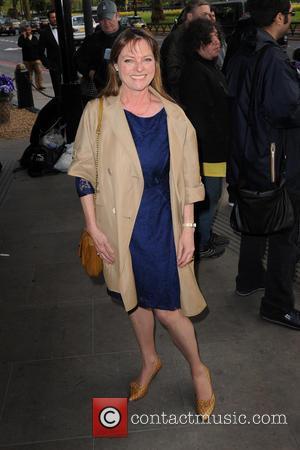 Janet Ellis - Sony Radio Academy Awards held at Grosvenor House - Outside Arrivals - London, United Kingdom - Monday...