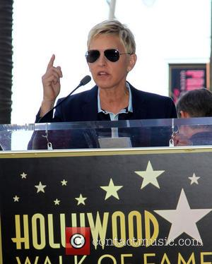 Ellen DeGeneres - Steve Harvey is honoured with a star on the Hollywood Walk of Fame - Los Angeles, California,...