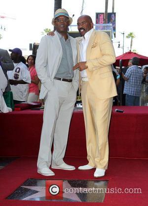 Samuel L. Jackson and Steve Harvey