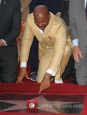 Steve Harvey - Steve Harvey is honoured with a star on the Hollywood Walk of Fame - Los Angeles, California,...