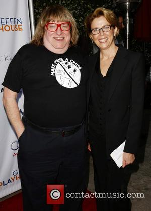 Bruce Vilanch and Annette Bening